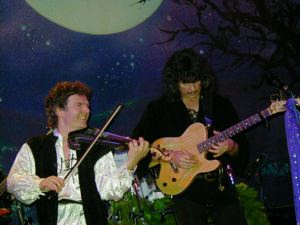 Chris Devine and Ritchie Blackmore